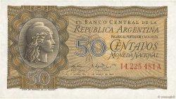 50 Centavos ARGENTINE  1950 P.259a NEUF