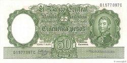 50 Pesos ARGENTINE  1955 P.271c SUP+
