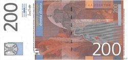 200 Dinara YOUGOSLAVIE  2001 P.157 pr.SPL