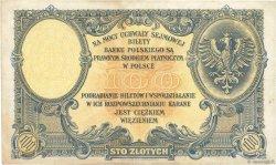 100 Zlotych POLOGNE  1924 P.057 TTB