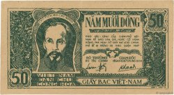 50 Dong VIET NAM  1948 P.027b SUP