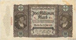 2 Millions Mark ALLEMAGNE  1923 P.089a TTB