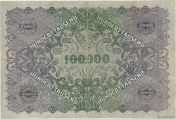 100000 Kronen AUTRICHE  1922 P.081 pr.TTB