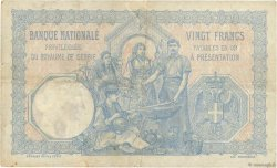 20 Dinara SERBIE  1905 P.11a pr.TTB