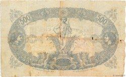 500 Francs type 1874 sans ALGER ALGÉRIE  1924 P.075b B+