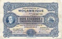 2,5 Escudos MOZAMBIQUE  1921 P.067b TB+