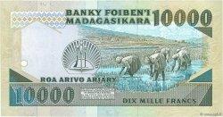 10000 Francs - 2000 Ariary MADAGASCAR  1988 P.74b NEUF