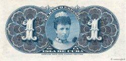 1 Peso CUBA  1896 P.047a SPL