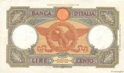 100 Lire ITALIE  1937 P.055b TTB+