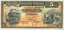 5 Pesos MEXIQUE  1914 PS.0465a pr.NEUF