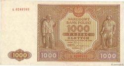1000 Zlotych POLOGNE  1946 P.122 TTB+