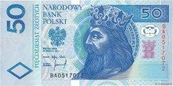 50 Zlotych POLOGNE  1994 P.175a NEUF