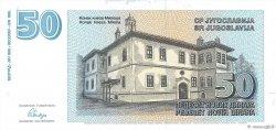 50 Dinara YOUGOSLAVIE  1996 P.151 pr.NEUF