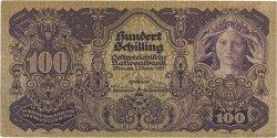 100 Schilling AUTRICHE  1927 P.097 TTB