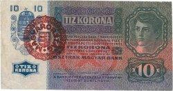 10 Korona HONGRIE  1920 P.019 TTB