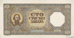 100 Dinara SERBIE  1943 P.33 SUP