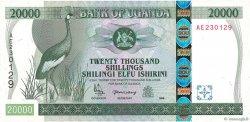 20000 Shillings OUGANDA  1999 P.42 pr.NEUF