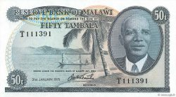 50 Tambala MALAWI  1975 P.09c pr.NEUF