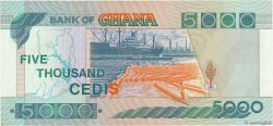 5000 Cedis GHANA  1996 P.31c SUP