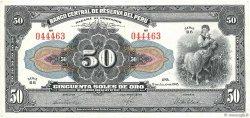 50 Soles PÉROU  1945 P.068Aa TTB
