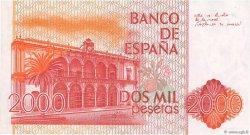 2000 Pesetas ESPAGNE  1980 P.159 SUP