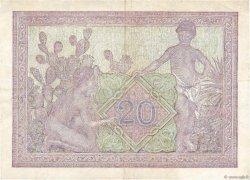 20 Francs type 1943 TUNISIE  1945 P.18 TTB