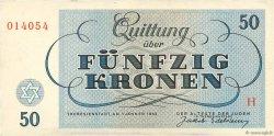 50 Kronen ISRAËL  1943 WW II.706
