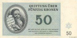 50 Kronen ISRAËL Terezin 1943 WW II.706 pr.NEUF
