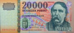 20000 Forint HONGRIE  2009 P.201b NEUF