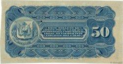 50 Centavos RÉPUBLIQUE DOMINICAINE  1880 PS.102r NEUF