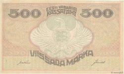 500 Marka ESTONIE  1920 P.49f TTB+