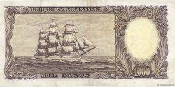 1000 Pesos ARGENTINE  1955 P.274b TTB