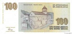 100 Dinara YOUGOSLAVIE  1996 P.152 pr.NEUF