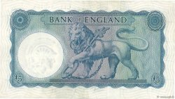 5 Pounds ANGLETERRE  1957 P.371a
