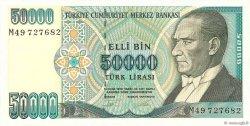 50000 Lira TURQUIE  1995 P.204 NEUF