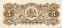 5 Colones COSTA RICA  1917 PS.122r pr.NEUF