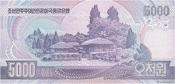 5000 Won CORÉE DU NORD  2002 P.46a NEUF