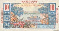 10 Francs Colbert MARTINIQUE  1946 P.28 TTB+