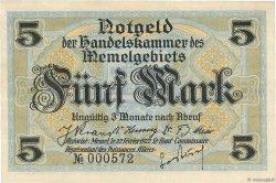 5 Mark MEMEL  1922 P.04a pr.NEUF
