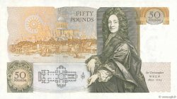 50 Pounds ANGLETERRE  1988 P.381b SPL