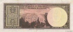 2,5 Lira TURQUIE  1947 P.140 TTB