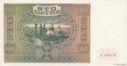 100 Zlotych POLOGNE  1941 P.103 SPL