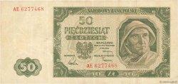 50 Zlotych POLOGNE  1949 P.138 TB+