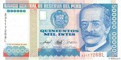 500000 Intis PÉROU  1989 P.147 NEUF
