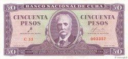 50 Pesos CUBA  1961 P.098a SPL