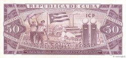 50 Pesos CUBA  1961 P.098a