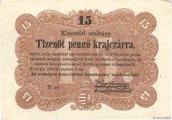 15 Pengö Krajczar HONGRIE  1849 PS.121 SUP+