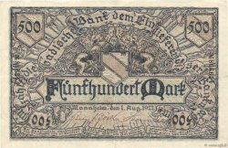500 Mark ALLEMAGNE  1922 PS.0908 TTB