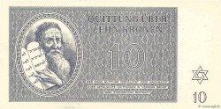 10 Kronen ISRAËL Terezin 1943 WW II.704 NEUF