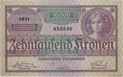 10000 Kronen AUTRICHE  1924 P.085 SUP+